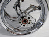 NEW HARLEY TOURING PERFORMANCE MACHINE 16X3.5 RIVAL FRONT WHEEL 1202-7606R-RV