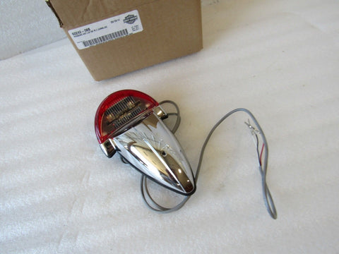 NEW OEM NOS HARLEY FXCW/C SOFTAIL ROCKER TAIL LIGHT 60242-08B