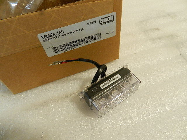 NOS NEW OEM BUELL RED LIGHT Y0652A.1AU
