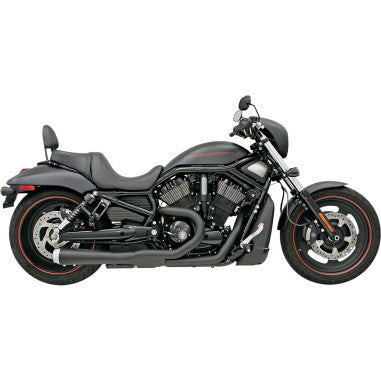 NEW 2012-2017 HARLEY VRSC VROD BASSANI 2-INTO-1 ROAD RAGE EXHAUST