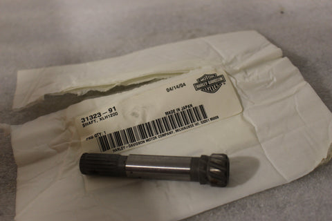NEW OEM NOS HARLEY XLH1200 SHAFT 31323-91