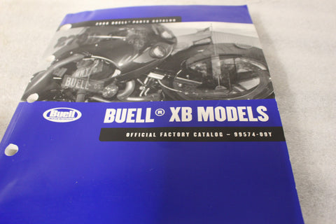 OEM 2009 HARLEY BUELL XB MODELS PARTS CATALOG 99574-09Y