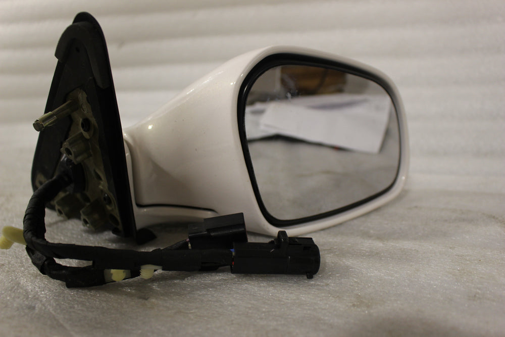 NOS OEM Lincoln CONTINENTAL Power Mirror 2000 White Right Hand F80Z17682AAZ