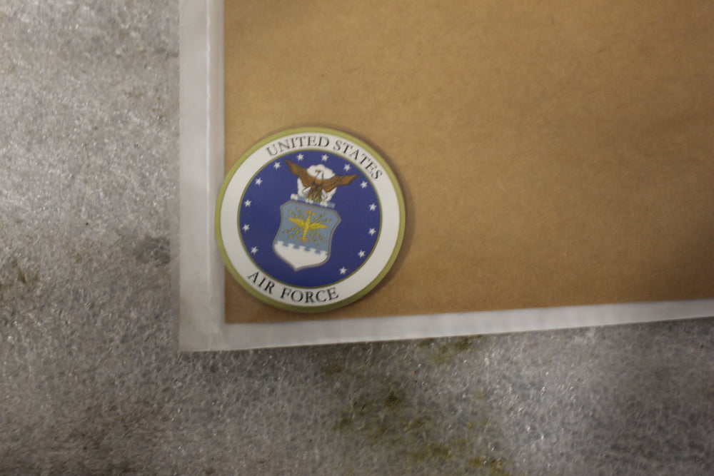 NEW OEM HARLEY MEDALLION, INSERT, Air Force  92262-07