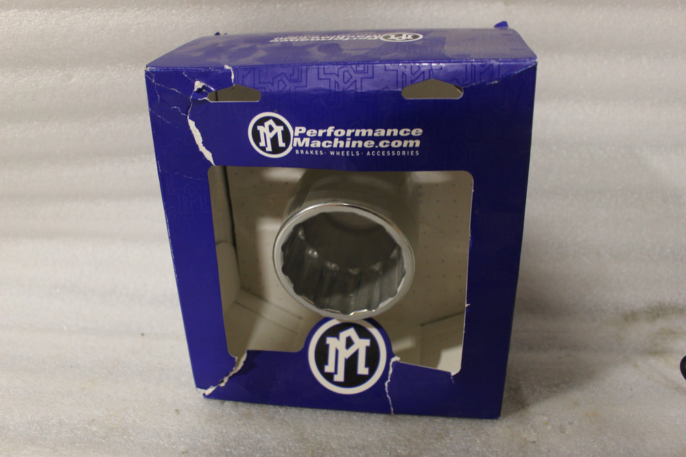 NOS NEW OEM PERFORMANCE MACHINE EXHAUST TIP ASSY.-CLEAN CUT 1802-0184