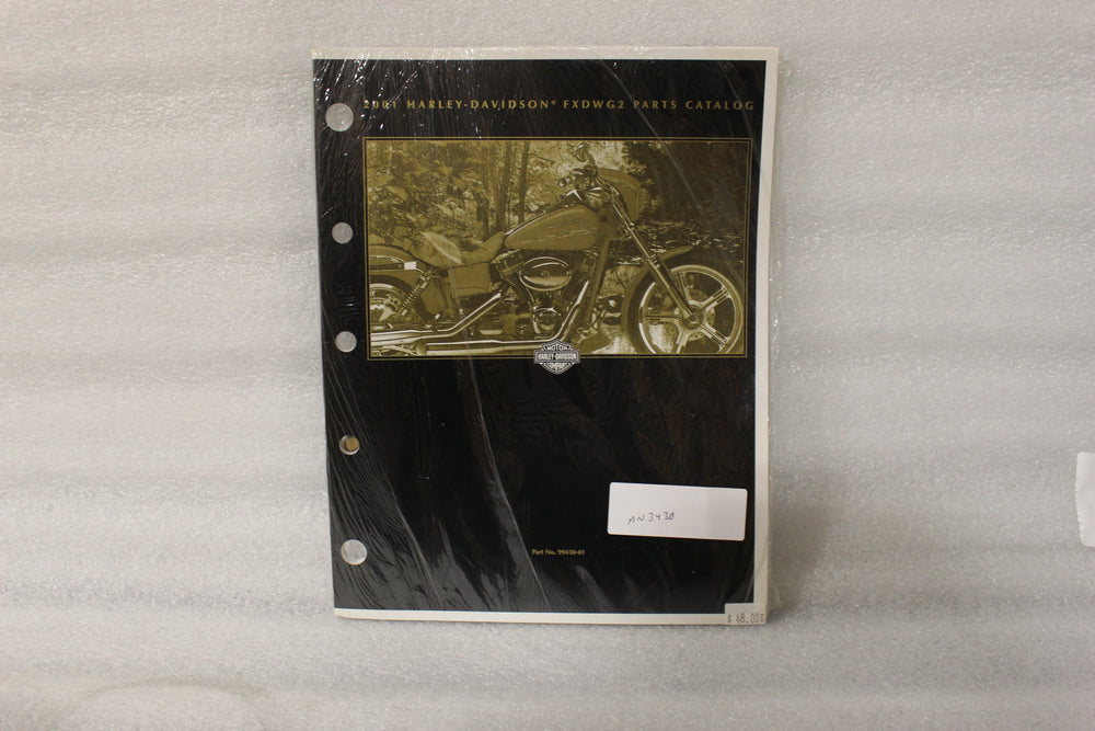 NEW NOS OEM 2001 HARLEY FXDWG2 PARTS CATALOG 99430-01