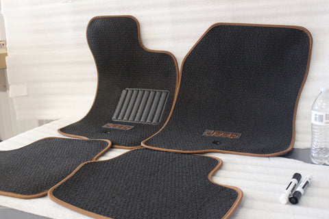 NEW OEM 2011 JEEP PATRIOT COMPASS FLOORMATS 1TB381DKAB