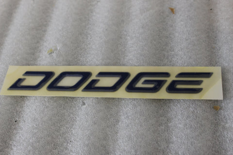 "NEW NOS OEM 1992-2002 DODGE VIPER DECAL NAMEPLATE ""DODGE"" GC54SBB REAR"