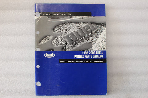 OEM 1995-2003 BUELL PAINTED PARTS MANUAL CATALOG 99489-03Y