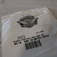 NEW OEM NOS HARLEY SCREW, TAPPING HEX WSH HD 2523 AMT 10