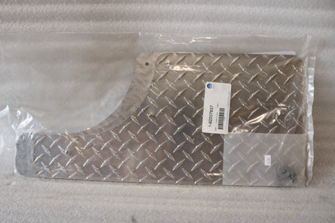 NEW OEM NOS DODGE RAM DIAMOND PLATE SPLASH GUARDS 82207837