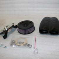 NOS NEW OEM CYCLE VENOM MOFLOW AIR FILTER ASSY. GLOSS BLACK/ 1010-0444
