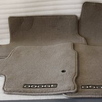 NEW NOS OEM 2008-2011 DODGE GRAND CARAVAN FLOOR MAT KIT 82211220