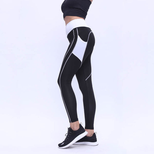 Thick Fabric Push Up Heart Leggings
