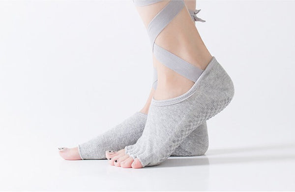 Women Professional Ballet Socks Half Five Toe .
