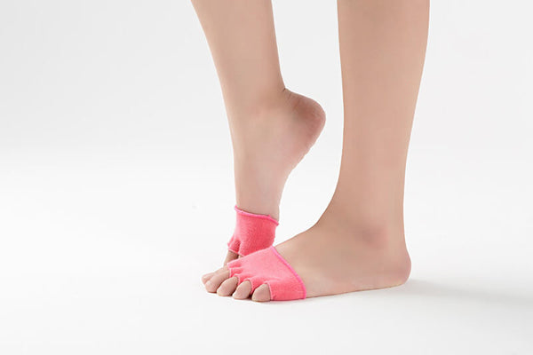 Half Sole Socks - Ballet Dance - Anti Slip