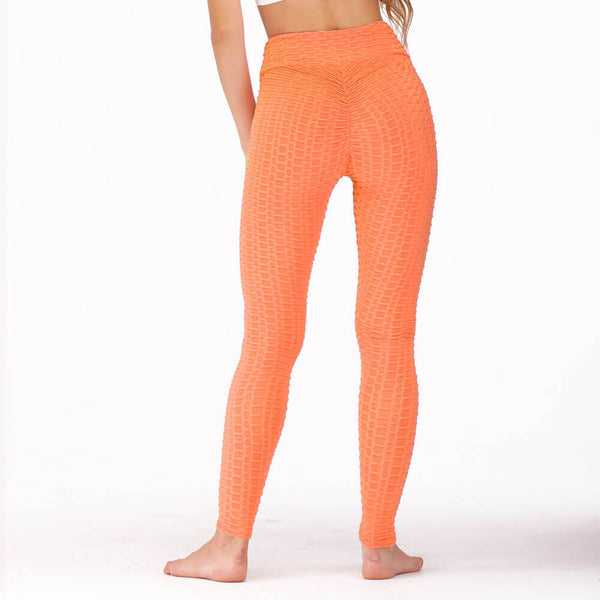 Fashion Lady Solid high waisted workout leggings