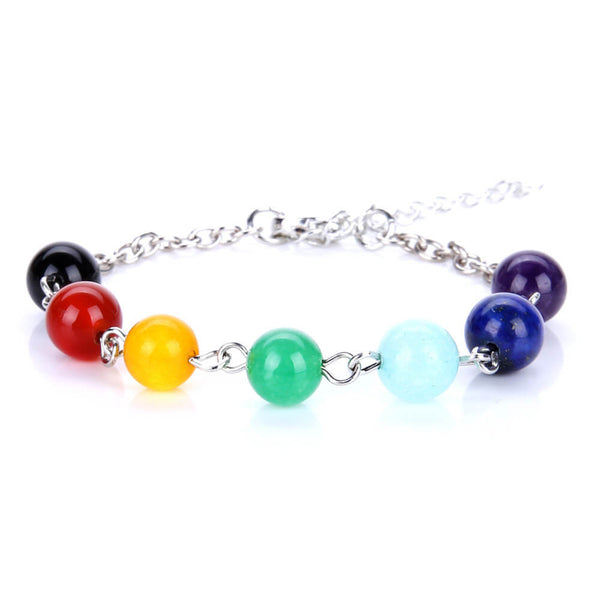 7 Chakra Healing Necklaces Women Bracelet