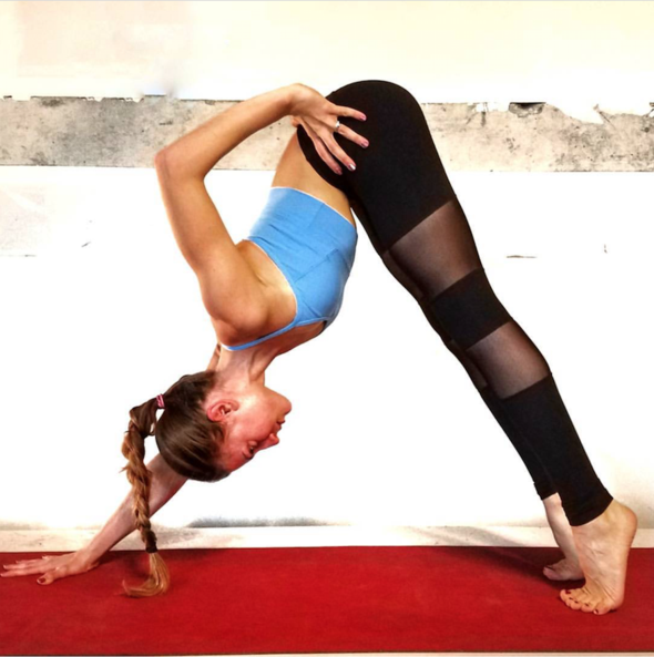 2019 Mesh Luna Yoga Leggings