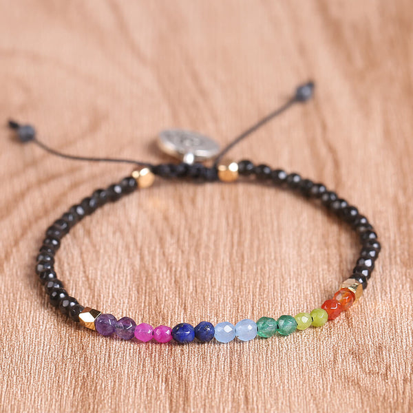 Lucky Stone Beads Chakra Bracelets for Women