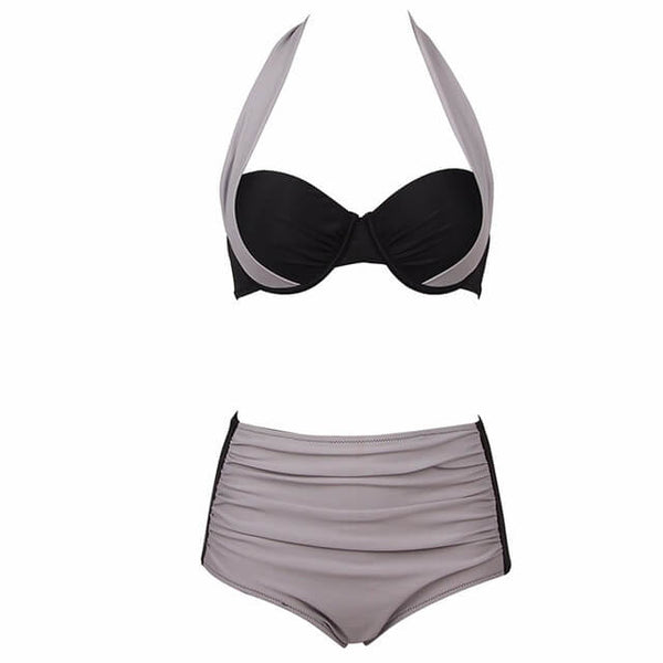 New Sexy High Waisted Women Swimsuit
