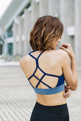 2019 New Sexy Backless Bras Contrast