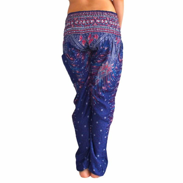 Folk-custom Large Crotch Leggings - Thailand Styles