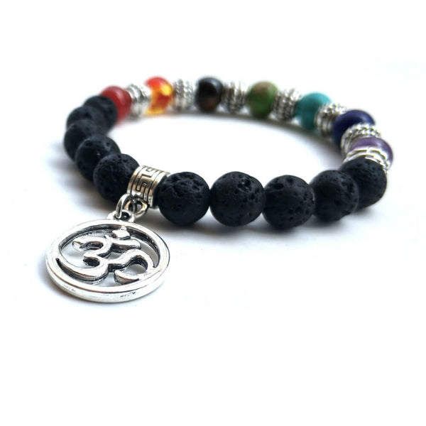 7 Chakra Stone Bracelets For Women Men