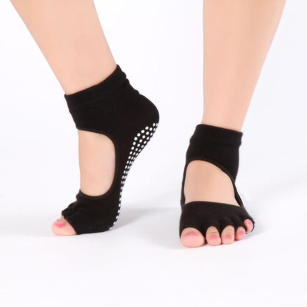 New 2020 Dance Ankle Grip Short Backless Pilates Socks