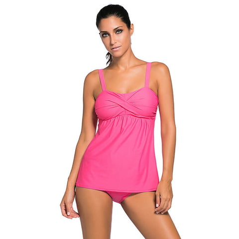 Women Summer Swimwear Two Pieces Tankini Set