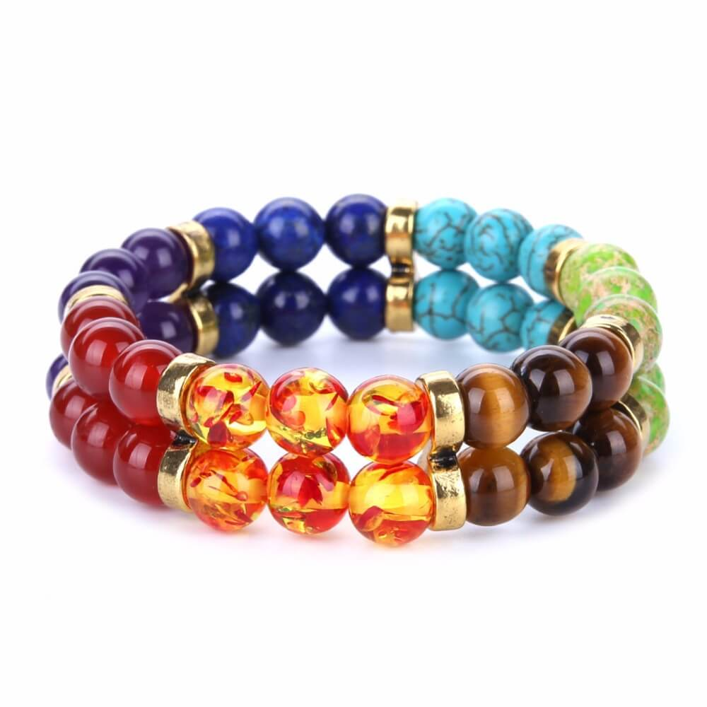 7 Chakra Yoga Multi-color Women Bracelet