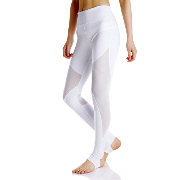 Mesh Coast Yoga Leggings With Built-in Hiney Trainer™