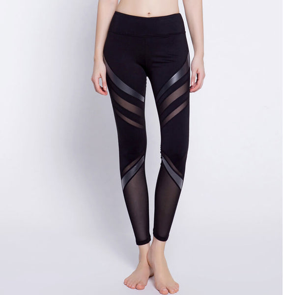 2019 High Stretch Meshy Leggings