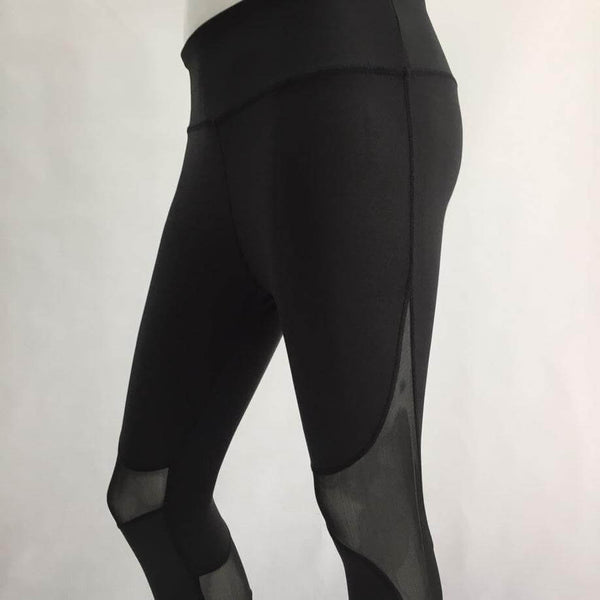 2019 Hot Women Mesh Splice Fitness Leggings
