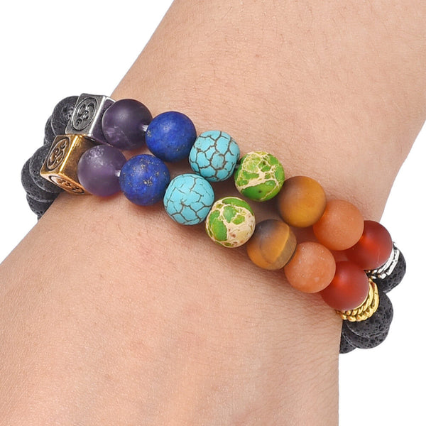 7 Chakra Bracelets  for Women Men