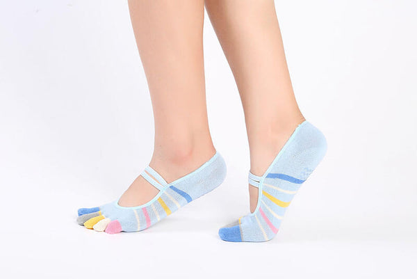Women Sporting Socks Professional Anti Slip Dance Socks