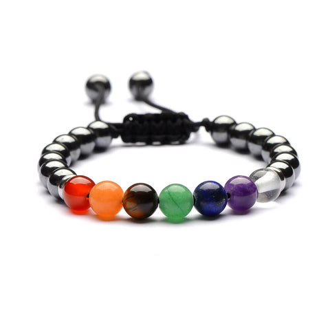7 chakra Men Women Natural Stones Bracelets