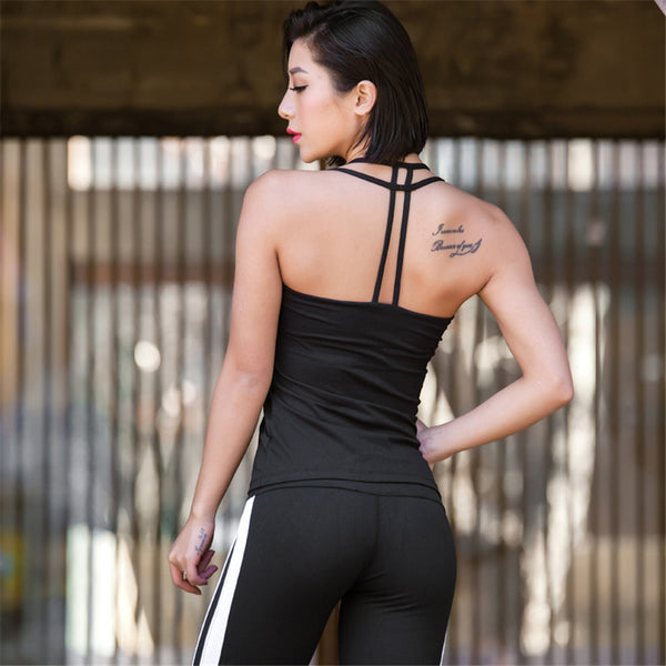 Women's Sleeveless Padded Sports Bra - 2019 Activewear