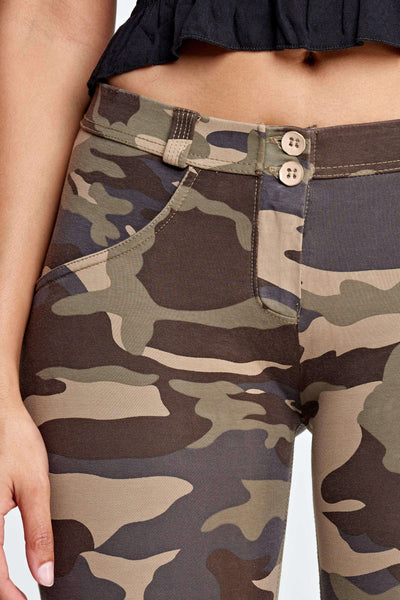 2019 Low/High Waist Camo Pants With Built-in Super Hiney Trainer X™ Lifts & Supports