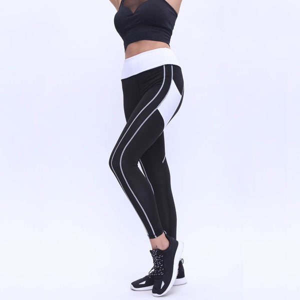 Thick Fabric Push Up Heart Leggings - Fashion Workout