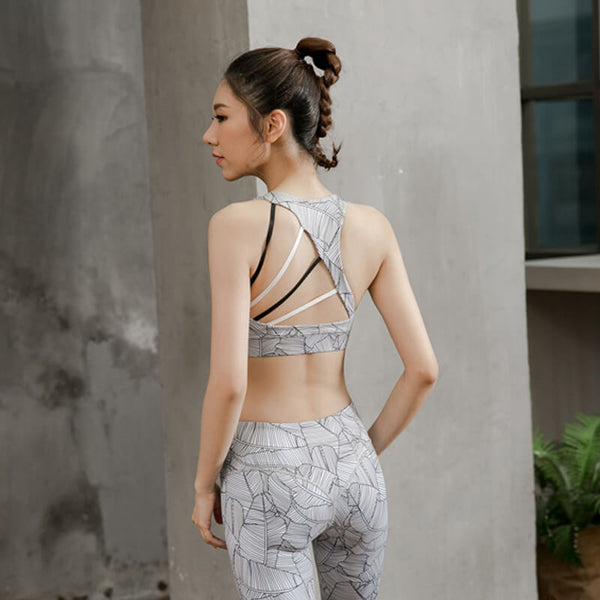 2019 New Backless Push Up Fitness Bras
