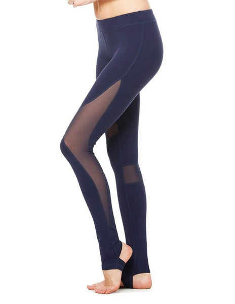 Elastic Fitness Leggings Gymming Long Pants