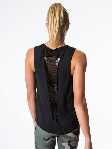 2020 Nova Sleeveless Black Tank Top - Limited Edition