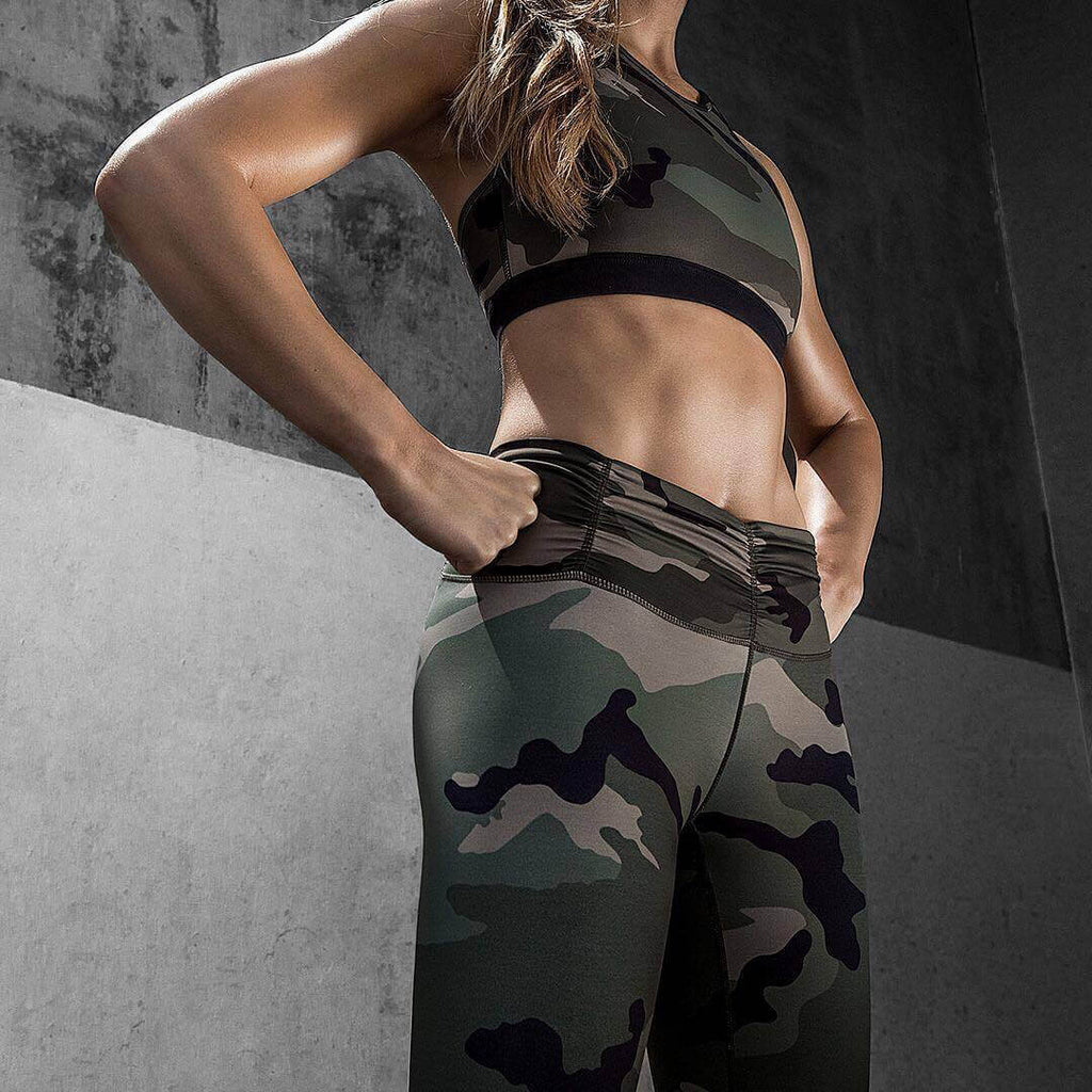 2020 Wild Camo Leggings
