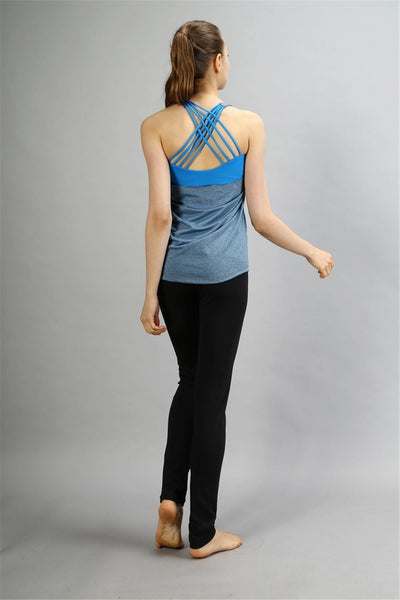 Open Back Sleeveless  Yoga Shirt/Bra - 2020 Design