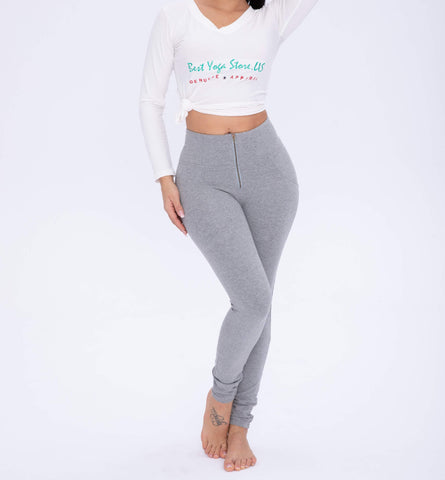 2019 High Waisted Gray Knitted With Hiney Trainer X™