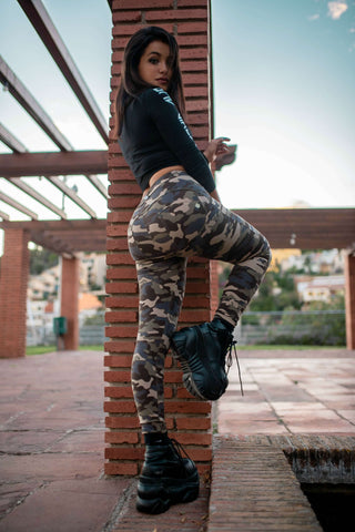 Camo Pants With Built-in Super Hiney Trainer X™ Lifts & Supports