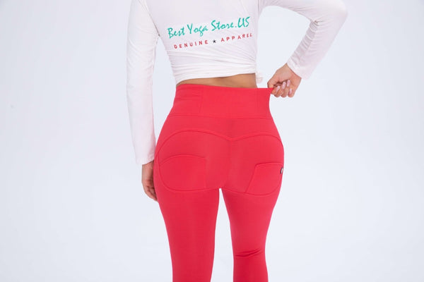 2019 Red Cotton Pants With Built-in Super Hiney Trainer X™