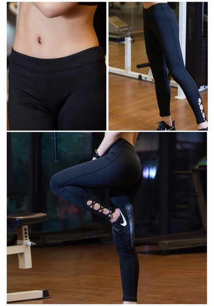 Sexy Style Hollow 4-way Stretch Criss Cross Yoga Pants Hiney Trainer™