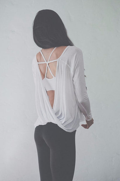 Long Sleeve Backless 2019 Alexandra Top